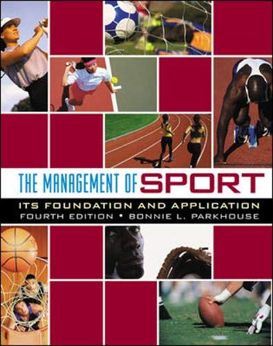 9780072985467: The Management of Sport: Its Foundation and Application with PowerWeb Bind-in Card