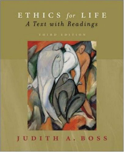 9780072985498: Ethics for Life w/ Free PowerWeb : A Text with Readings