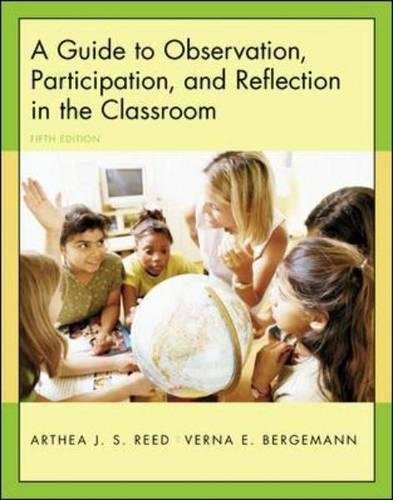 9780072985535: A Guide to Observation, Participation, and Reflection in the Classroom with Forms for Field Use CD-ROM