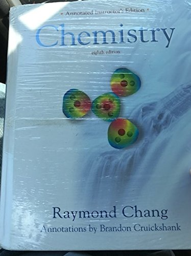 Raymond Chang Chemistry Annotated Instructors Edition