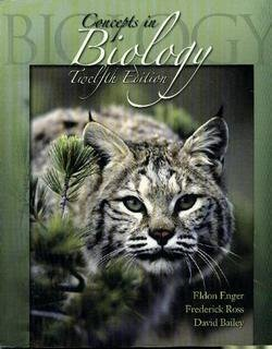 9780072986570: Concepts in Biology
