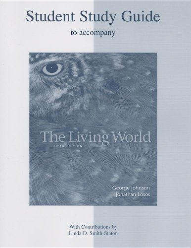 9780072986693: Student Study Guide t/a The Living World