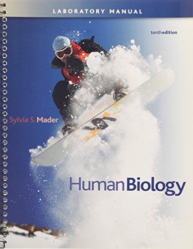 Lab Manual t/a Human Biology: Sylvia S. Mader