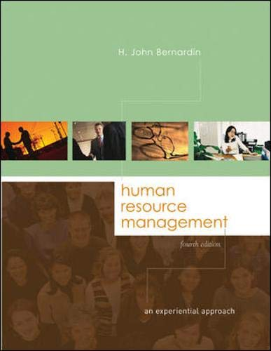 9780072987256: Human Resource Management: An Experiential Approach