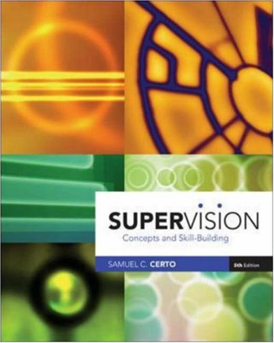 9780072987522: Supervision: Concepts and Skill-Building