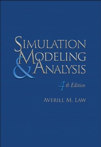 9780072988437: Simulation Modeling and Analysis (McGraw-Hill Series in Industrial Engineering and Management)