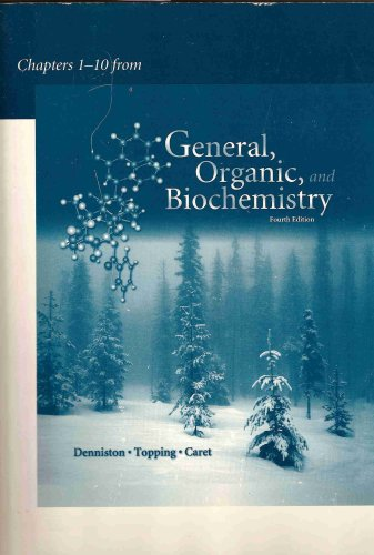 9780072989113: General, Organic, and Biochemistry (Chapters 1-10)