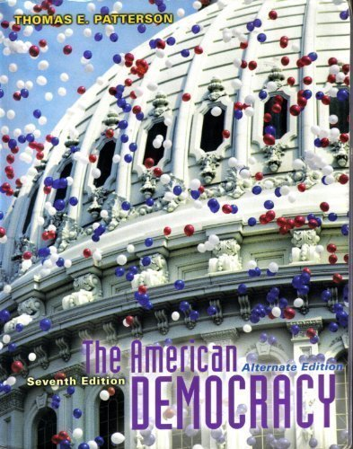 9780072989304: The American Democracy, Alternate Edition, with PowerWeb