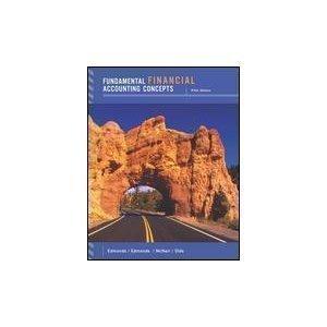 9780072989434: Fundamental Financial Accounting Concepts