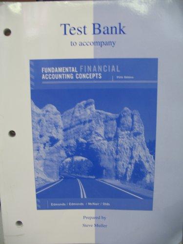 9780072989472: Test Bank to Accompany Fundamental Finan