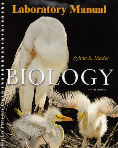 9780072989557: Lab Manual to accompany Biology