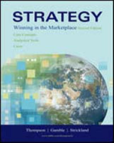 9780072989908: Strategy Winning in the Marketplace: Core Concepts, Analytical Tools, Cases