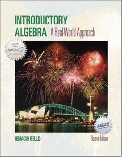 9780072990997: Introductory Algebra