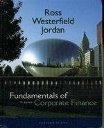 9780072991215: Fundamentals of Corporate Finance (Mcgraw-Hill/Irwin Series in Finance, Insurance, and Real Estate)