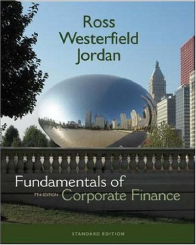 9780072991598: Fundamentals Of Corporate Finance (Mcgraw-Hill/Irwin Series in Finance, Insurance, and Real Estate)
