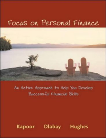 9780072992397: Focus on Personal Finance: An Active Approach to Help You Develop Successful Financial Skills