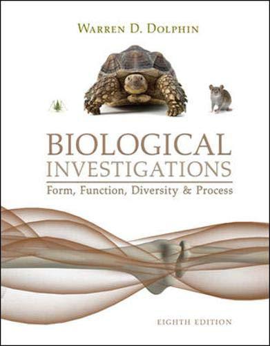 9780072992878: Biological Investigations Lab Manual
