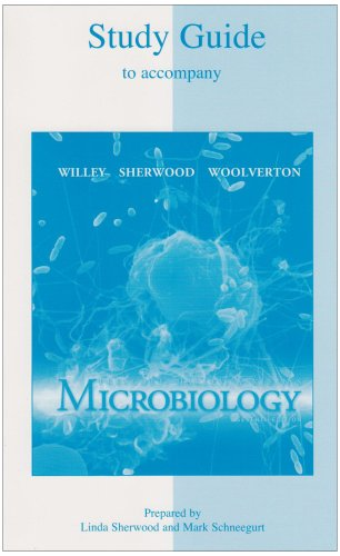 9780072993233: Student Study Guide to accompany Microbiology