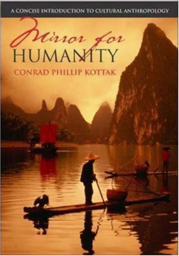 9780072993387: Mirror for Humanity: A Concise Introduction to Cultural Anthropology with PowerWeb