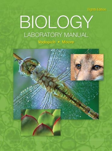 9780072995220: Biology Laboratory Manual