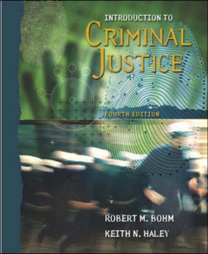 9780072995541: Introduction to Criminal Justice