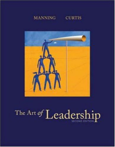 9780072995688: The Art of Leadership