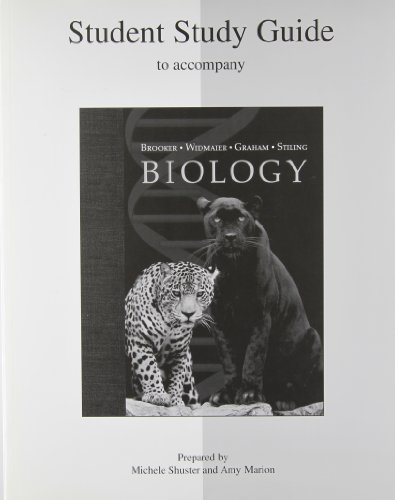 Study Guide to accompany Biology: Brooker, Robert J.;