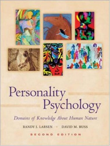 9780072996142: Personality Psychology: Domains of Knowledge About Human Nature with PowerWeb