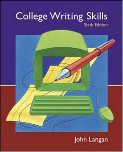 9780072996265: College Writing Skills: Text, Student CD, User's Guide, and Online Learning Center powered by Catalyst