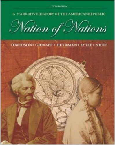 9780072996319: Nation of Nations: A Narrative History of the American Republic