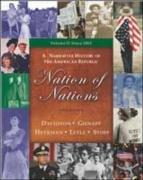 9780072996333: Nation of Nations: A Narrative History Of The American Republic: Since 1865, Chapters 17-33 w/CD and Powerweb Reg Code
