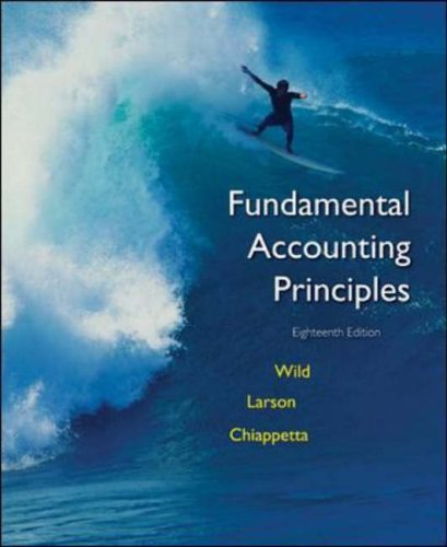 9780072996531: Fundamental Accounting Principles  Eighteenth ED