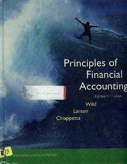9780072996548: Principles of Financial Accounting: Chapters 1-17
