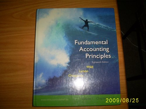 9780072996562: Fundamental Accounting Principles: Volume 1 (Chapters 1-12)