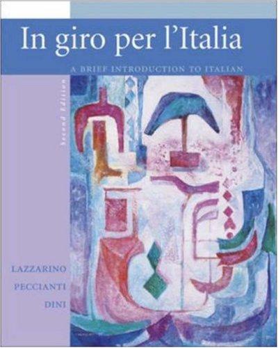 9780072997415: In Giro Per L'Italia: Student Edition (Italian Edition)