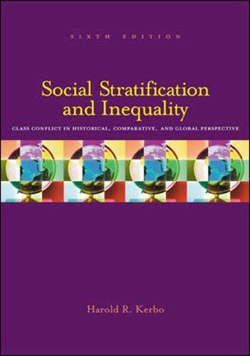 9780072997699: Social Stratification and Inequality