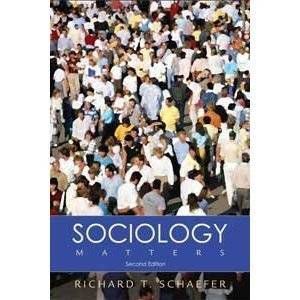 9780072997750: Sociology Matters