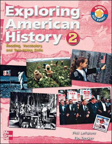 9780072998450: Exploring American History: Reading, Vocabulary, and Test-taking skills 2 (1800-Present) Audio CD