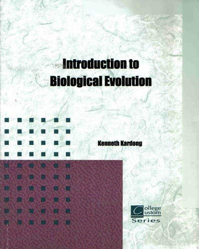 9780072998771: Introduction to biological Evolution