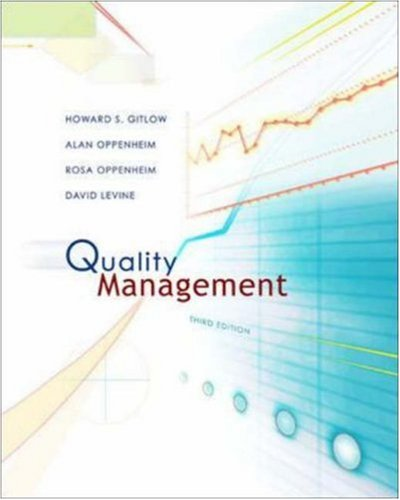 9780072999839: Quality Management with Student CD (Irwin/McGraw Hill Series, Operations and Decision Sciences)