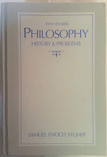 9780073000619: Philosophy: History and Problems, Fifth Edition