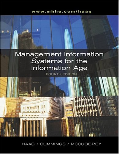 9780073010915: Management Information Systems for the Information Age + MIS Info Age Module + MISource V2 CD + PowerWeb