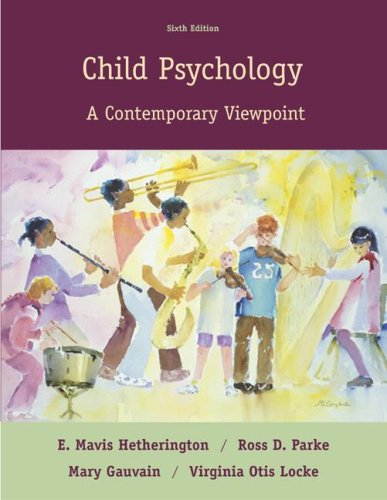 9780073012315: Child Psychology: A Contemporary View Point