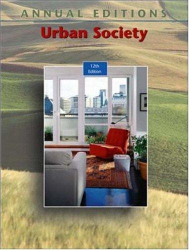 9780073012612: Annual Editions: Urban Society, 12/e