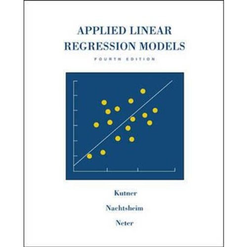 9780073013442: Applied Linear Regression Models