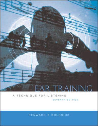 9780073015958: Ear Training w/Transcription CD