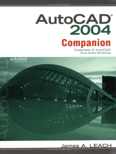9780073016047: MP AutoCAD 2004 Companion : Essentials of AutoCAD Plus Solid Modeling