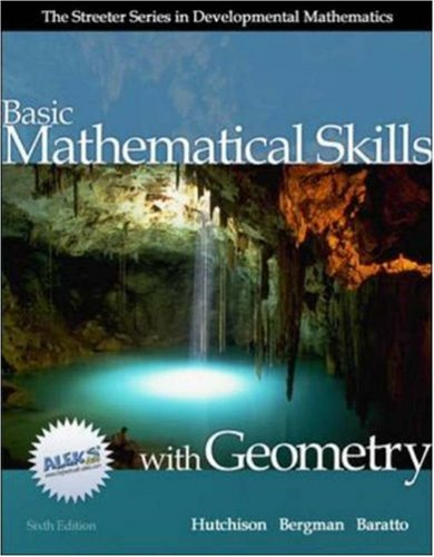 9780073016054: MP: Basic Mathematical Skills with Geometry