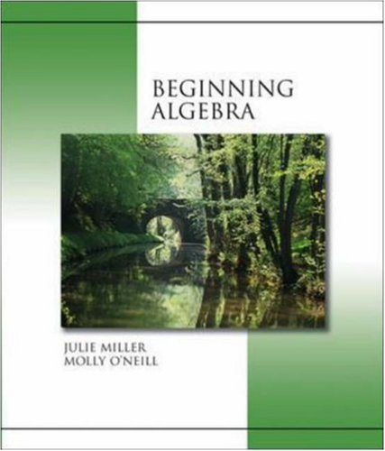 9780073016092: Beginning Algebra (hardcover) with MathZone