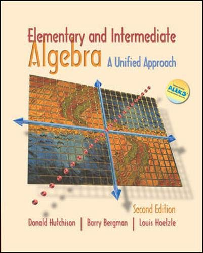 9780073016481: Elementary and Intermediate Algebra: A Unified Approach with MathZone